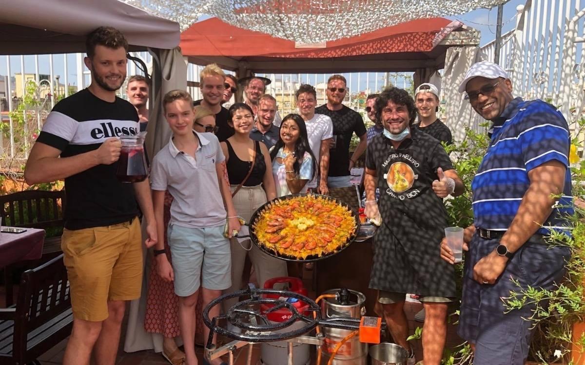 Spanische Paella Aktivitäten