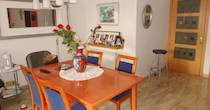 <b>Dinning room in one of our host families</b>