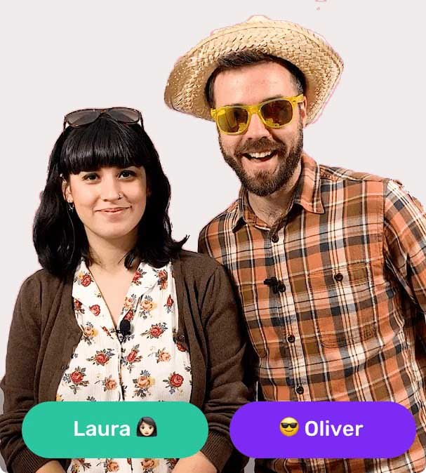Laura and Oliver